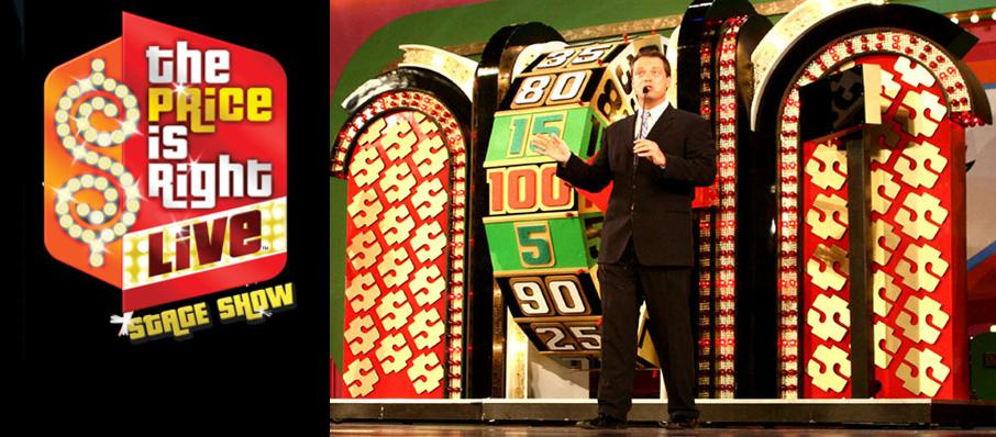 The Price Is Right - Live Stage Show at Steven Tanger Center for the Arts