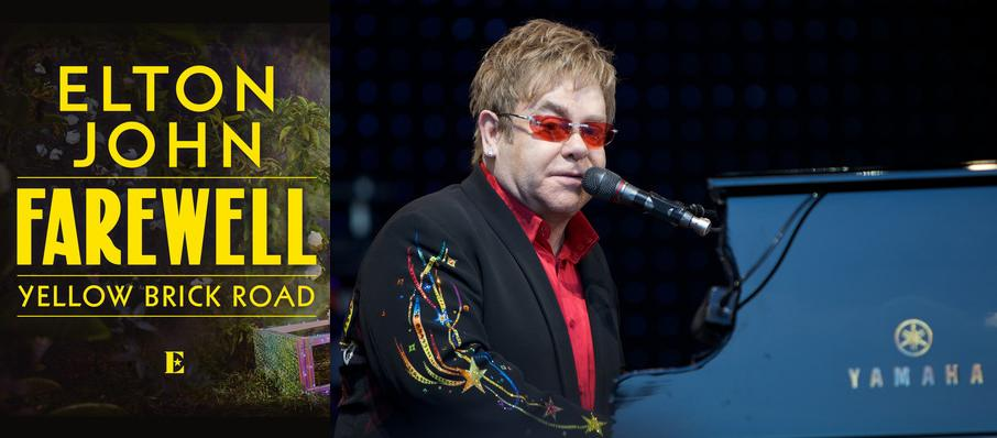 Elton John at Greensboro Coliseum