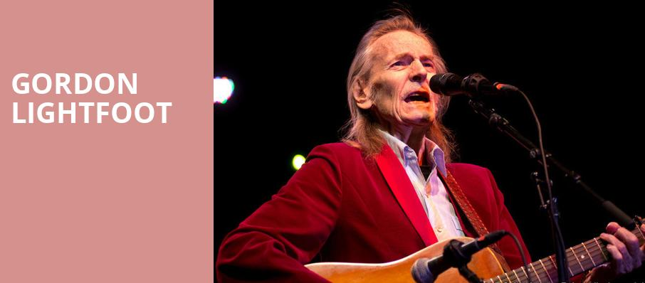 Gordon Lightfoot, Carolina Theater, Greensboro
