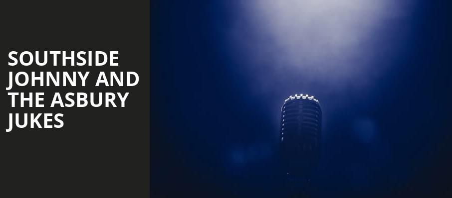 Southside Johnny and The Asbury Jukes, Cone Denim Entertainment Center, Greensboro