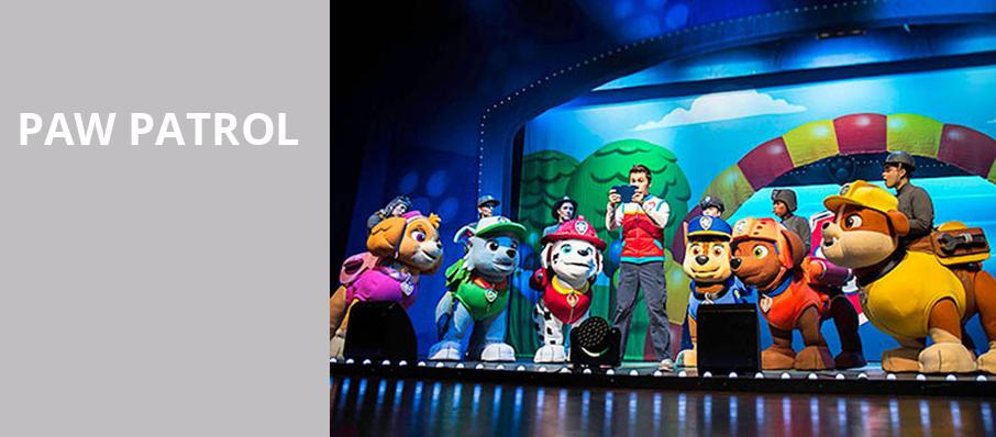 Paw Patrol, Greensboro Coliseum, Greensboro