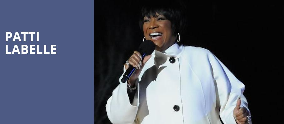 Patti Labelle, Steven Tanger Center for the Arts, Greensboro