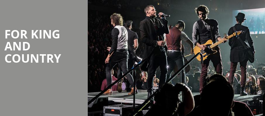 For King And Country Greensboro Coliseum Greensboro Nc Tickets Information Reviews