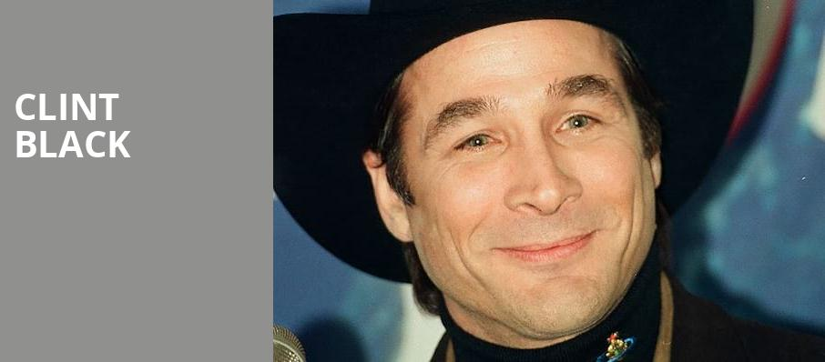 Clint Black, White Oak Amphitheatre, Greensboro